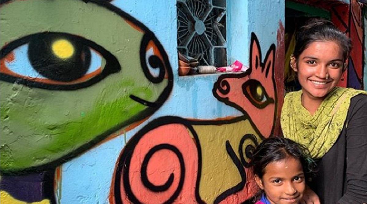 Delhi Slums Get a Rainbow Makeover Ushering Selfie Lovers (See Pictures)