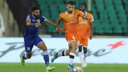 Chennaiyin FC vs FC Goa, ISL 2019–20 Live Streaming on Hotstar: Check Live Football Score, Watch Free Telecast of CFC vs FCG Semi-final Leg 1 in Indian Super League 6 on TV and Online