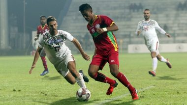 I-League 2019–20 Result: Marti Crespi Last-Gasp Goal Helps East Bengal Beat TRAU 2–1