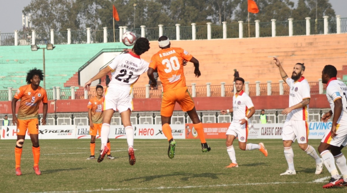 I-League 2019-20 Result: Jaime Colado Double Helps East Bengal Record First Win, Rout Neroca 4-1