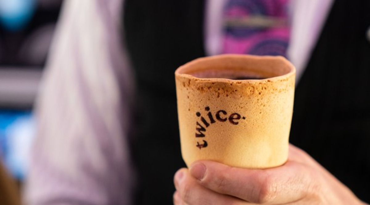 Air New Zealand Introduces Edible Coffee Cups Onboard in a Bid to Reduce Plastic Waste