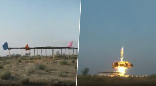 Indian Army Test-Fires Excalibur Ammunition from M-777 Artillery Howitzers in Pokhran, Watch Video