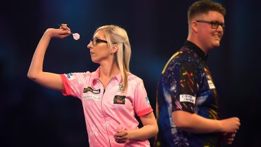 Fallon Sherrock Wins a World Darts Championship Match, First Woman to Beat a Man in a Duel