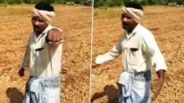 Karnataka Farmer Singing and Dancing to Justin Beiber's Baby Will Drive Away Your Monday Blues (Watch Video)