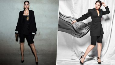 Fashion Faceoff: Sonam Kapoor Ahuja or Bhumi Pednekar, Who Aced Glamorous Power Dressing in Black?