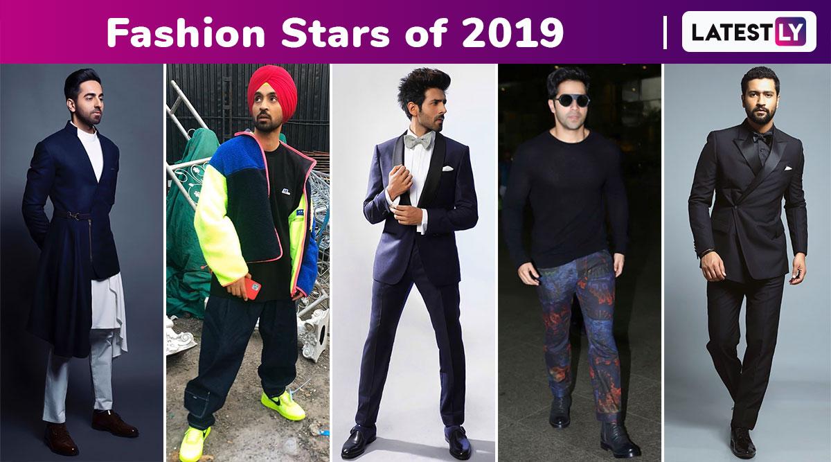 Year Ender 2019 With Fashion: When Ayushmann Khurrana, Varun Dhawan, Diljit Dosanjh, Vicky Kaushal and Kartik Aaryan Raised The Sartorial Bar With Their Styles!