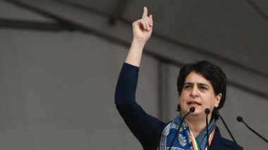 Jamia Millia Islamia University Violence: Modi Government is Scared of People's Voice, Tweets Priyanka Gandhi
