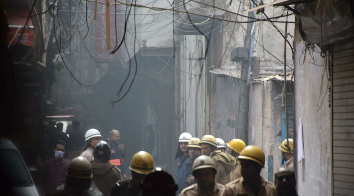 Delhi Fire: Anaj Mandi Building Didn't Have Clearance From Fire Department, AAP Blames BJP-Run MCD For Tragedy