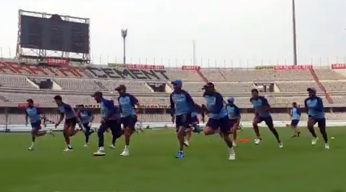 IND vs WI T20I Series 2019: Virat Kohli and Boys Take Fitness Drills to Next Level Ahead of West Indies Series (Watch Video)