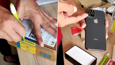 Man Orders Apple iPhone 11 Pro From Flipkart, Receives Fake Phone With 'Camera Sticker'