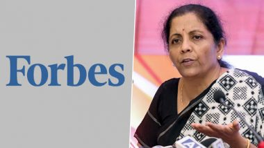 Forbes World's 100 Most Powerful Women 2019: Nirmala Sitharaman Features at 34th Position, Angela Merkel Tops The List