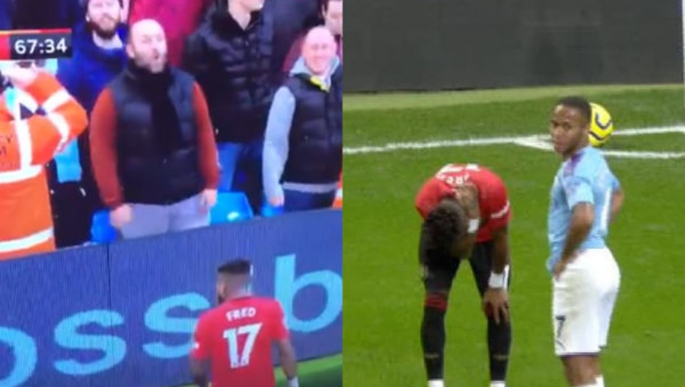Manchester City Fans Taunt Jesse Lingard  and Fred With Racist Jibes During their Derby Match Against Manchester United (Watch Video)