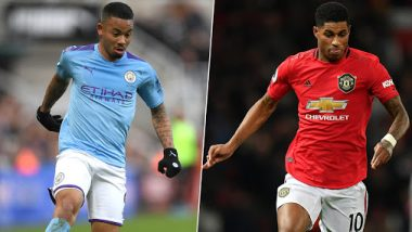 Manchester City vs Manchester United: Gabriel Jesus, Marcus Rashford & Other Players to Watch Out For During Manchester Derby in Premier League 2019-20