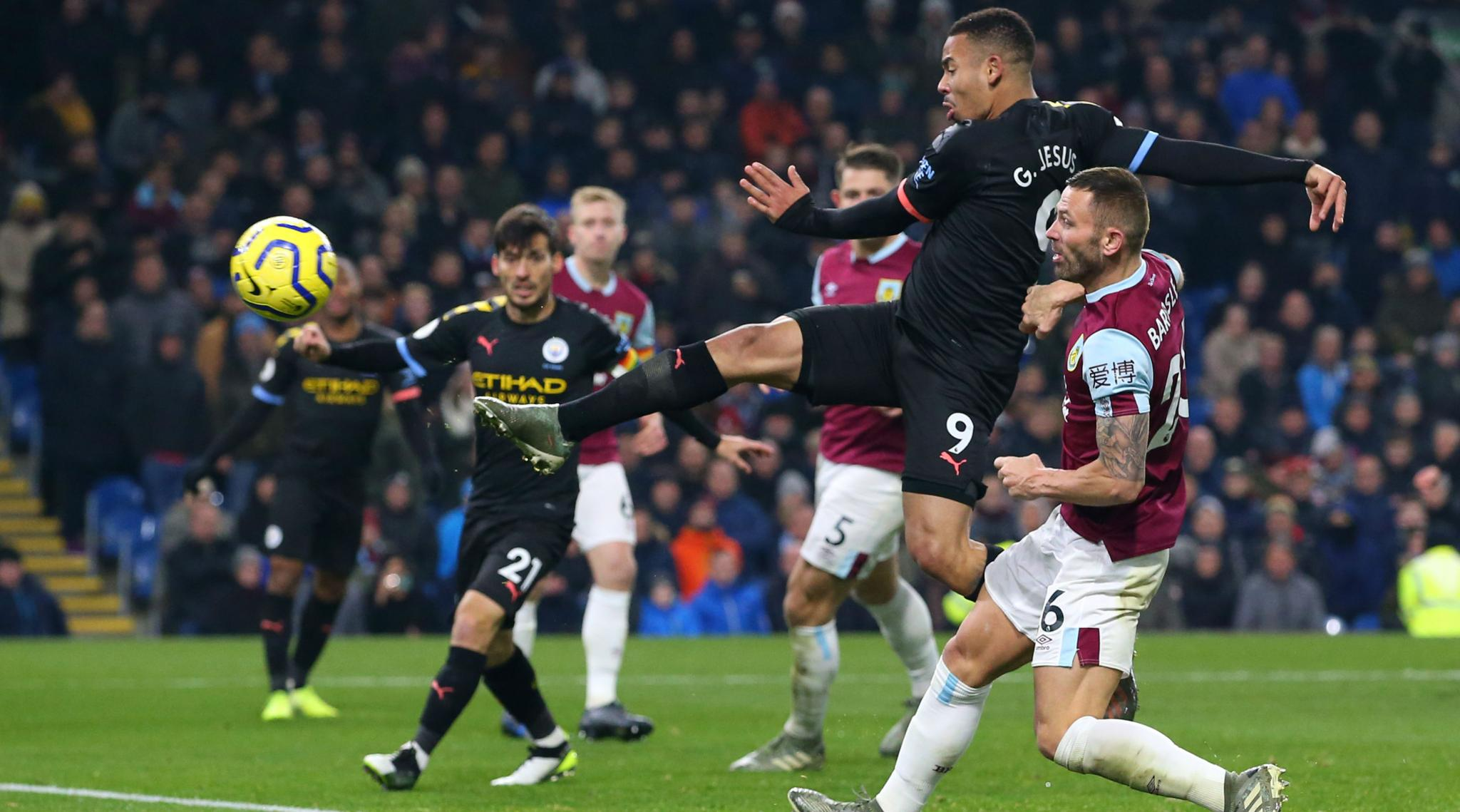 Burnley 1-4 Manchester City, Premier League 2019-20 Result: Gabriel Jesus Finds Goal Touch as Man City Bounce Back to Thrash the Clarets