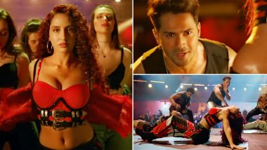 Street Dancer 3D: Nora Fatehi Sizzles Even in Mere 20-Seconds-Long Garmi Teaser With Varun Dhawan (Watch Video)