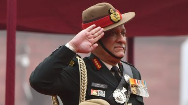 Chief of Defence Staff General Bipin Rawat's Office Based in South Block; Uniform of CDS to be Same as Parent Service; See Pics