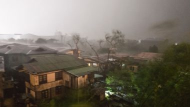 Typhoon In-fa Makes Landfall in China's Zhejiang Province