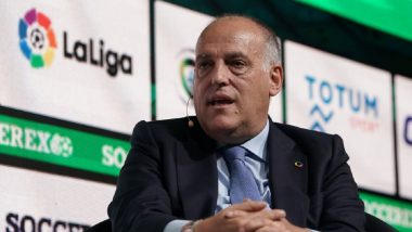 La Liga Chief Javier Tebas Wants June 11 Restart With Match Between Real Betis and Sevilla