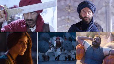 Tanhaji Song Ghamand Kar: This Track Featuring Ajay Devgn, Kajol And Saif Ali Khan Is A Rousing War Cry (Watch Video)