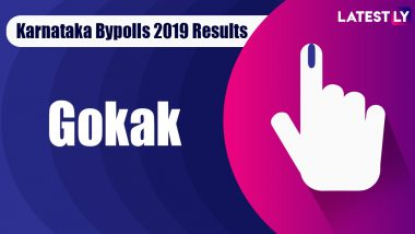 Gokak Bypoll 2019 Result For Karnataka Assembly: Jarkiholi Ramesh Laxmanrao of Congress Wins MLA Seat