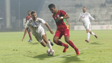 I-League 2019–20 Result: Mohun Bagan End Gokulam FC's Winning Streak in the Football Tournament, Beat Them 2–1