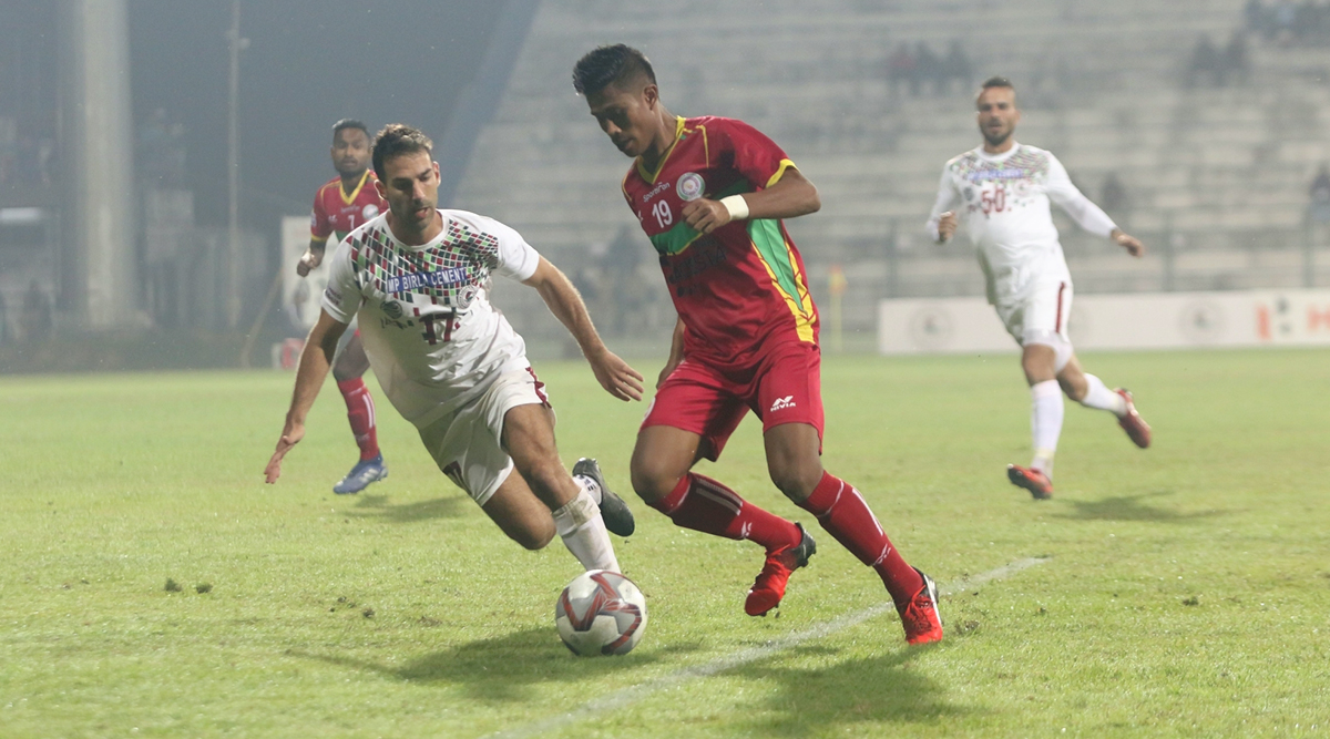 I-League 2019–20 Result: Mohun Bagan End Gokulam FC's Winning Streak in the Football Tournament, Beat Them 2–1