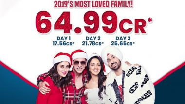 Good Newwz Box Office Collection Day 3: Akshay Kumar's Film Takes A Huge Leap, Earns Rs 64.99 Crore