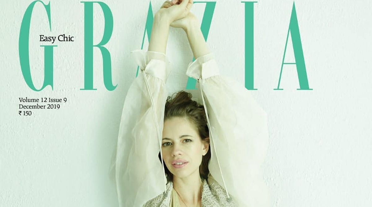 Kalki Koechlin Flaunts Her Baby Bump in Style on the Cover of Grazia India Magazine's December 2019 Issue (View Pics)