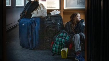 Greta Thunberg Tweets Photo of Herself Sitting on Train Floor Due to Overcrowding, German Railway Company Explains The Other Side