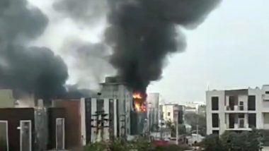 Gurugram: Fire Erupts at Factory in Manesar Hours After Delhi Blaze, Six  Fire Tenders at Spot