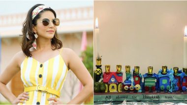 Hanukkah 2019: Sunny Leone Begins Celebrations for the Festival of Lights With Kids Nisha, Noah and Asher, Check Out Her Adorable Post!