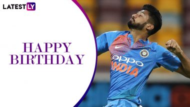 Happy Birthday Khaleel Ahmed: A Look at Some Magnificent Spells by India's Rising Speedster as He Turns 22