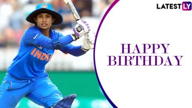 Mithali Raj Birthday Special: 214 vs England & Other Stellar Knocks by the Legendary Indian Batswoman