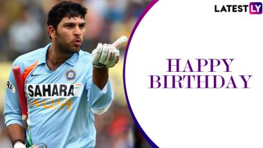 Happy Birthday Yuvraj Singh: Five Astounding Performances by the Former Indian Cricketer