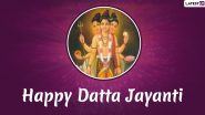 Datta Jayanti 2019 Date: History and Significance of The Day to Worship Lord Dattatreya, The Divine Trinity