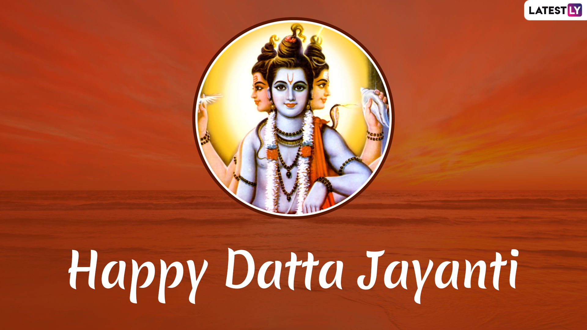 Datta Jayanti 2019 Messages: WhatsApp Images, Lord Dattatreya Photos, Greetings to Wish on This Auspicious Festival