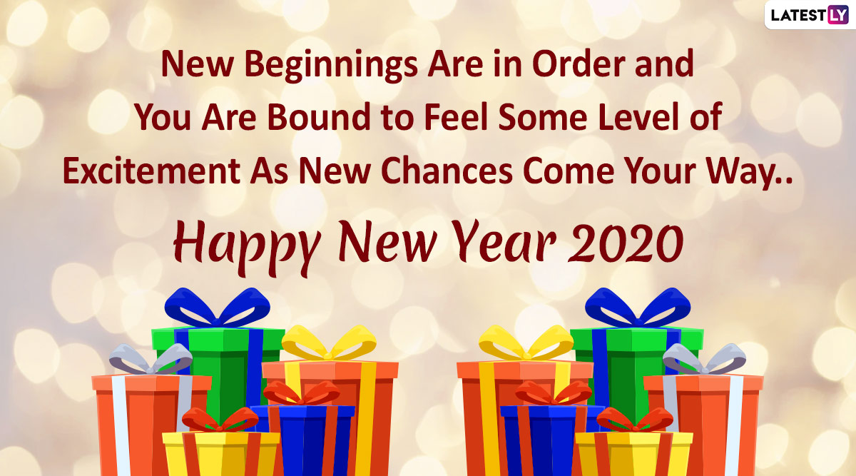Happy New Year 2020 Wishes & Quotes: SMS, WhatsApp ...