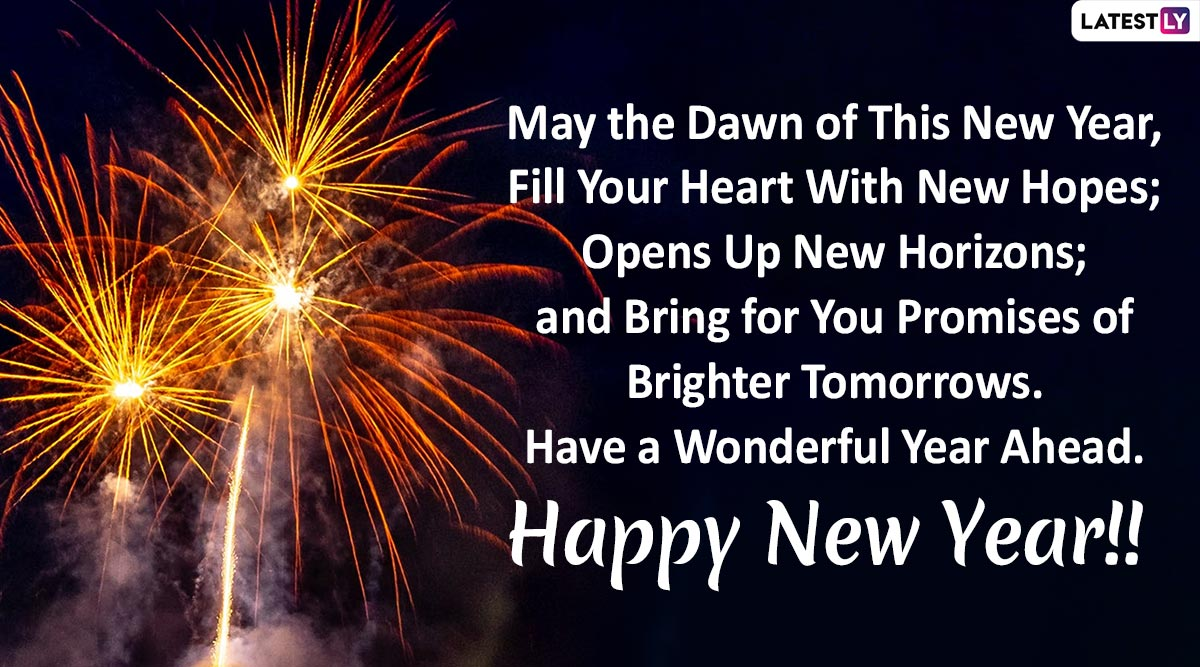 Happy New Year 2020 Wishes Quotes Sms Whatsapp Stickers
