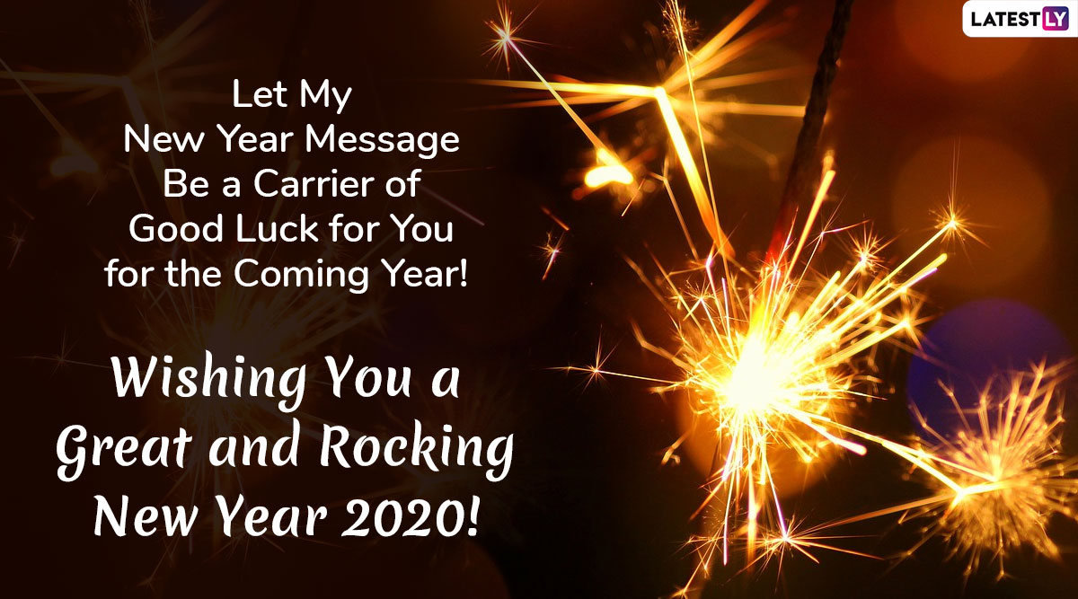 New Year 2020 Wishes Images Download in HD: SMS, WhatsApp ...