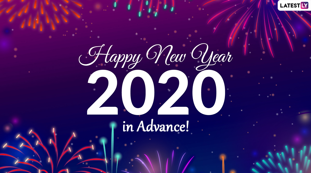 Happy New Year 2020 Wishes in Advance: WhatsApp Sticker ...