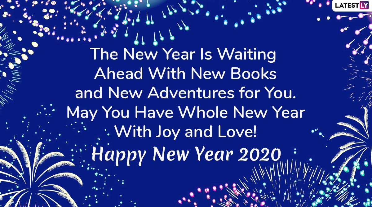 Happy New Year 2020 Wishes: WhatsApp Stickers, GIF Images ...