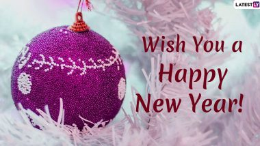 Happy New Year 2020 Messages: WhatsApp Stickers, GIF Images, HNY Wishes to Send Greetings to Your Friends and Family