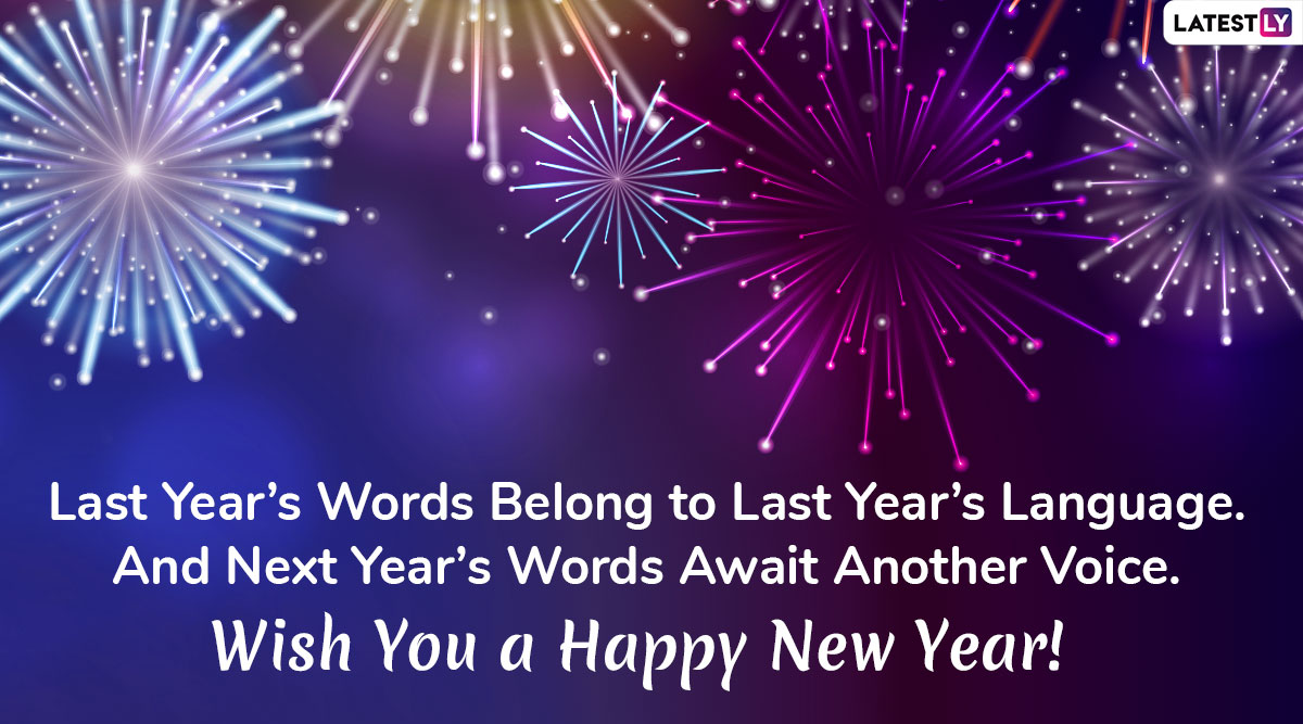 Happy New Year 2020 Messages: WhatsApp Stickers, GIF ...