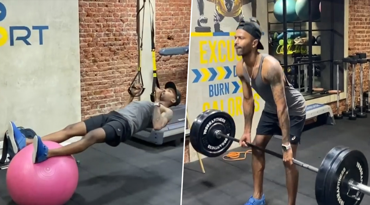 Hardik Pandya Shares Exercise Video on Instagram, All-Rounder Hints at Return to International Cricket