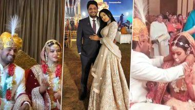 Kasautii Zindagii Kay 2 and Nazar Actress Sonyaa Ayodhya Marries Restaurateur Harsh Samorre In A Grand Rajasthani Wedding (View Pics)