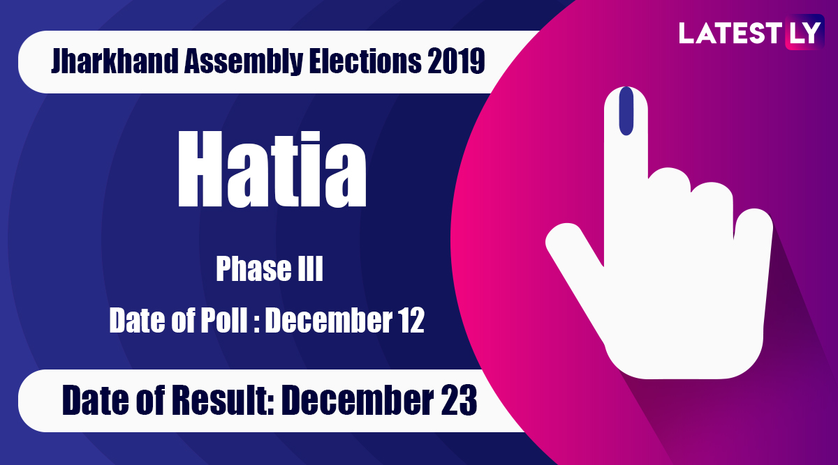 Hatia Vidhan Sabha Constituency Result in Jharkhand Assembly Elections 2019: Navin Jaiswal of BJP Wins MLA Seat