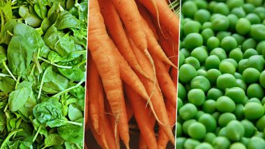 Healthy Winter Vegetables: Carrots, Green Peas, Spinach & Other Veggies You Should Eat For Good Health