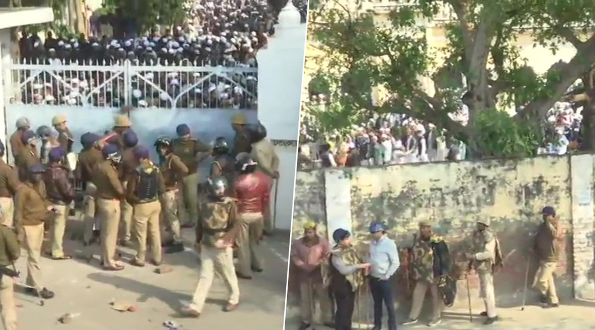 Nadwa College Tense as Protests Continue Against Citizenship Amendment Act, Campus Gate Shut by Lucknow Police From Outside