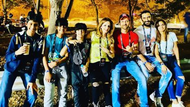 Sussanne Khan Attends U2 Concert in Mumbai with Hrithik Roshan! (View Pics)