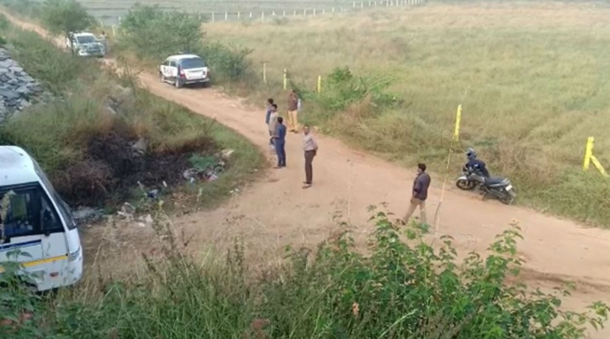 Hyderabad Encounter: All Accused in Vet Rape And Murder Case Gunned Down at Same Spot Where They Dumped Victim's Body, Here Are Other Details of Shootout